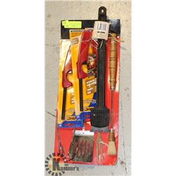 BBQ LIGHTERS AND TOOL SET