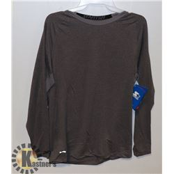 STARTER MEN'S THERMAL LONG SLEEVE FITTED TOP L