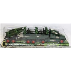 NEW MILITARY TRUCK KIDS TOY