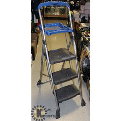 COSCO 3 STEP LADDER WITH TRAY