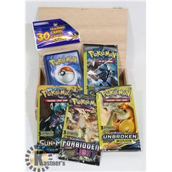 5 SEALED POKEMON GO BOOSTER PACKS