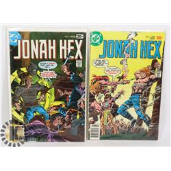 TWO 35 CENT JONAH HEX COMICS