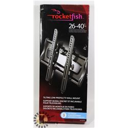 ROCKETFISH TILTING LOW PROFILE TV WALL MOUNT