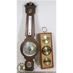 VINTAGE NAUTICAL WEATHER STATIONS