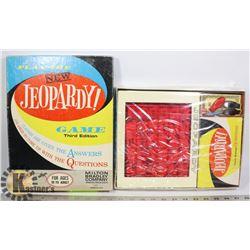 1964 JEOPARDY BOARD GAME