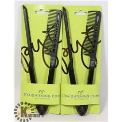TWO NEW STRAIGHTENING COMBS