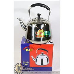 NEW STAINLESS STEEL KETTLE