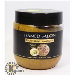 HAMED SALON FACIAL SCRUB GOLD 500ML