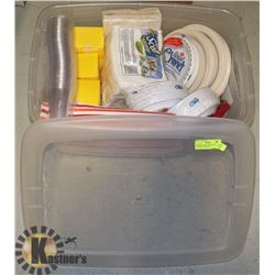 PAPER PLATES, NAPKINS, PLASTIC CUTLERY- ASSORTED
