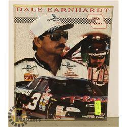 DALE SR 21X24 FRAMED POSTER NASCAR