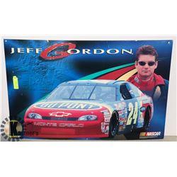 JEFF GORDON FRAMED POSTER NASCAR