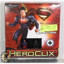 HEROCLIX SUPERMAN MINI GAME SET