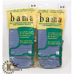 BAMA AIR CONDITIONING SYSTEM FOR RUBBER BOOTS