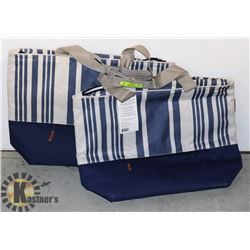 "SHOPPING COOLER BAGS- ""KEEP COOL"" SET OF 2"