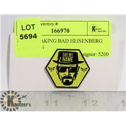 NEW BREAKING BAD HEISENBERG THEME PIN
