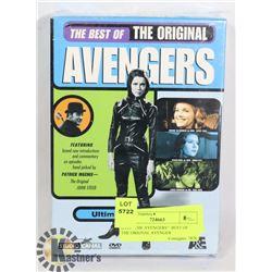 """DVD- """"THE AVENGERS""""- BEST OF THE ORIGINAL AVENGER"""