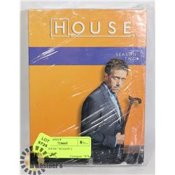 "DVD- ""HOUSE"" SEASON 2"