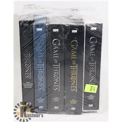 "DVD- ""GAME OF THRONES"" SEASON 1,2,3,6,7"