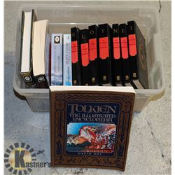 J.R. TOLKIEN BOOKS- ASSORTED LOT OF HARD &