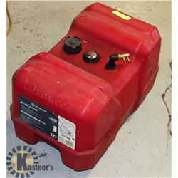 ATTWOOD GAS TANK FOR BOAT WITH BUILT IN GAUGE