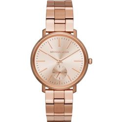 NEW MICHAEL KORS JARYN ROSE GOLD WATCH MSRP $331