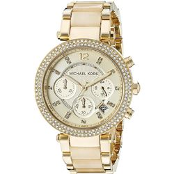 NEW MICHAEL KORS PARKER 39MM 3-CHRONO MSRP $395