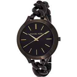 NEW MICHAEL KORS TWIST BLACK RUNWAY MSRP $275