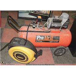 PRO AIR 2 5HP 25 GAL AIR COMPRESSOR WITH CHAMPION