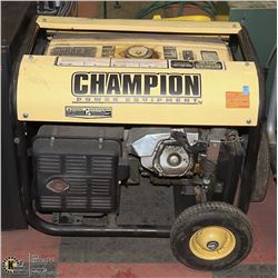 CHAMPION 6500 WATT GAS GENERATOR
