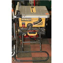 DEWALT DW745 TABLESAW