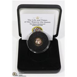 GOLD COIN WITH COA IN PRESENTATION CASE.
