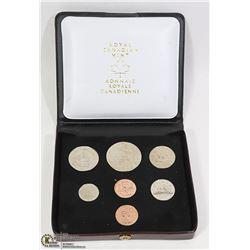 7 COIN SET CANADA 1976