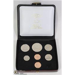 7 COIN SET CANADA 1977