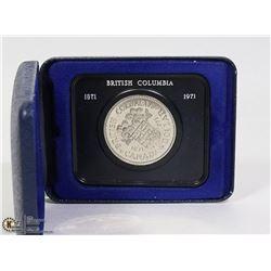 1871-1971 B.C DOLLAR