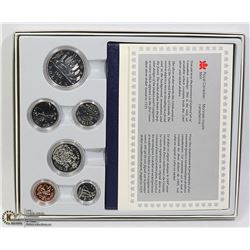 CANADIAN SPECIMEN SET 6 COIN 1982