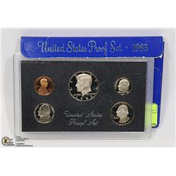 5 COIN PROOF SET 1983