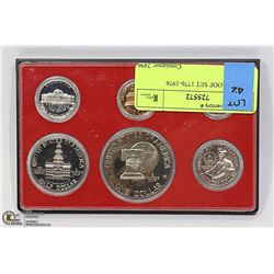 5 COIN PROOF SET 1776-1976