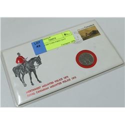 NWMP RCMP COIN FIRST DAY COVER