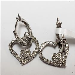 45) PLATINUM FANCY COLORED DIAMOND RING. SIZE 6.75