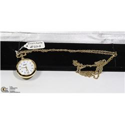 NEW MAJESTI SWISS MADE POCKET LADIES WATCH