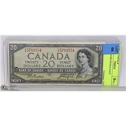 CAD 1954 $20 DEVILS FACE