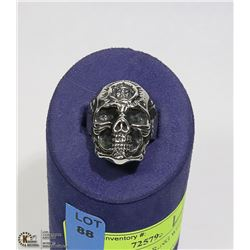 NEW SKULL FACE RING WITH FACE ON