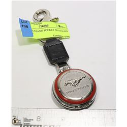 FORD MUSTANG POCKET WATCH ON A STRAP