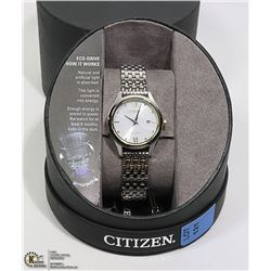 NEW CITIZEN ECO-DRIVE LADIES WATCH WITH DATE
