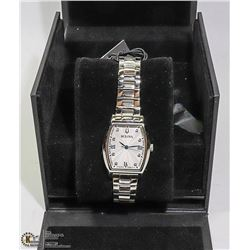 NEW BULOVA DIAMOND ACCENTED LADIES WATCH