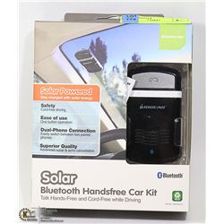 SOLAR BLUETOOTH HANDSFREE CAR KIT