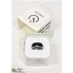 NEW JAKOM SMART RING R3F BLACK #9