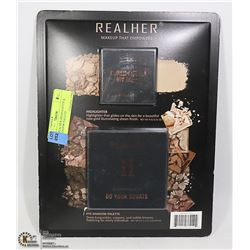 NEW REALHER HIGHLIGHTER & EYESHADOW PALETTE