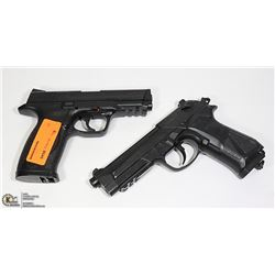 PAIR OF ESTATE PELLET HAND GUNS, NOT TESTED