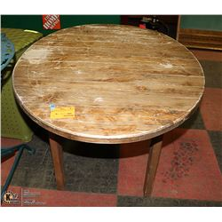 SOLID WOOD END TABLE 36 X 26 X 19